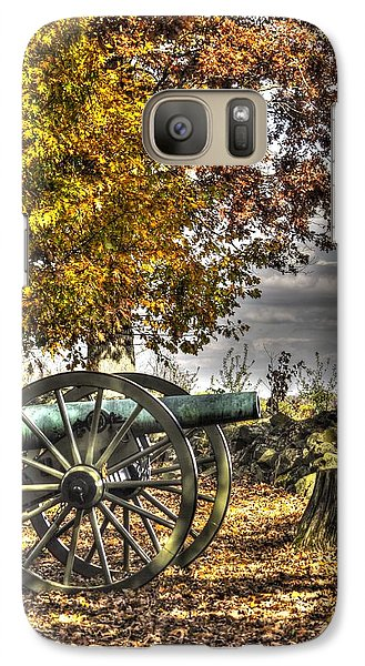 Galaxy Case featuring the photograph War Thunder - Aonv The Purcell Artillery Mcgraw's Battery-a1 West Confederate Ave Gettysburg by Michael Mazaika