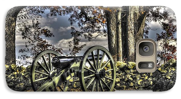 Galaxy Case featuring the photograph War Thunder - Lane's Battalion Ross's Battery-a1 West Confederate Ave Gettysburg by Michael Mazaika