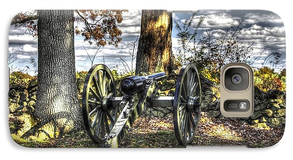 Galaxy Case featuring the photograph War Thunder - Lane's Battalion Ross's Battery-b1 West Confederate Ave Gettysburg by Michael Mazaika