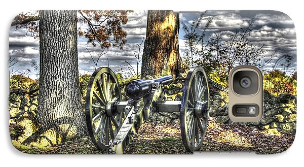 Galaxy Case featuring the photograph War Thunder - Lane's Battalion Ross's Battery-b2 West Confederate Ave Gettysburg by Michael Mazaika