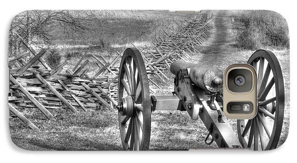 Galaxy Case featuring the photograph War Thunder - Poague's Battalion Brooke's Va Battery West Confederate Avenue Gettysburg by Michael Mazaika