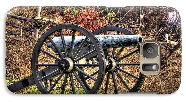 Galaxy Case featuring the photograph War Thunder - The Morris Artillery Page's Battery Oak Hill Gettysburg by Michael Mazaika