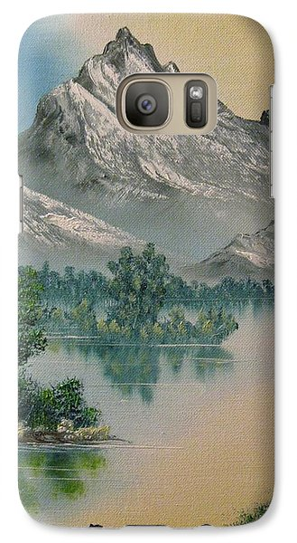 Galaxy Case featuring the painting Warm Feelings by Brian Johnson