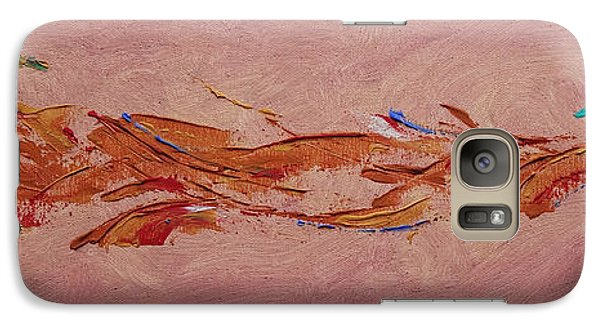 Galaxy Case featuring the painting Warmth by Arlene Sundby