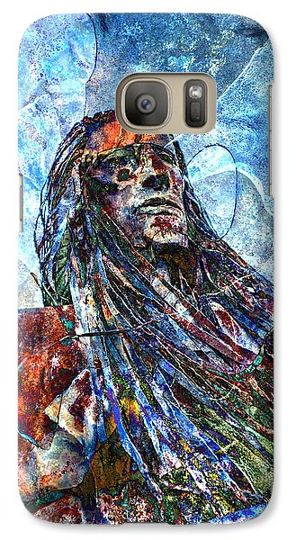 Galaxy Case featuring the photograph Warrior by James Bethanis