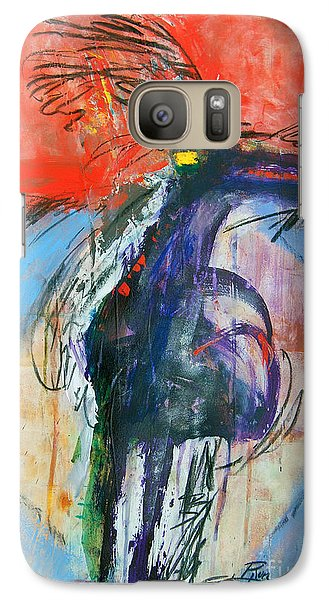 Galaxy Case featuring the painting Warrior Shaman by Ron Stephens