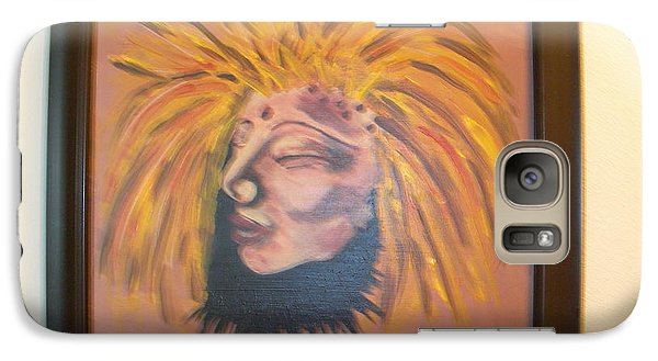 Galaxy Case featuring the painting Warrior Woman #1 by Sharyn Winters