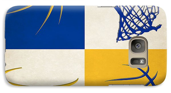 Warriors Ball And Hoop Galaxy S7 Case