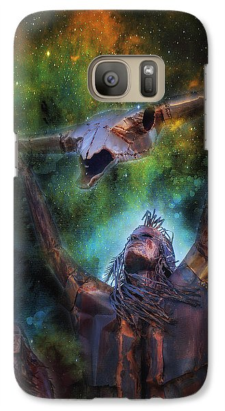 Galaxy Case featuring the photograph Warriors by James Bethanis