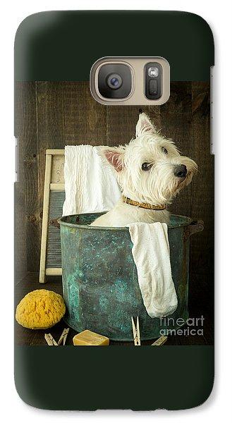 Wash Day Galaxy S7 Case by Edward Fielding