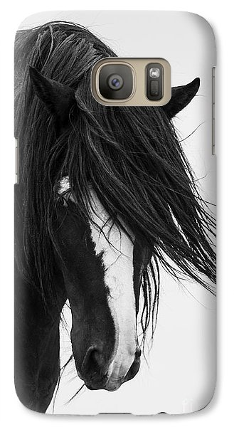 Horse Galaxy S7 Case - Washakie's Portrait by Carol Walker
