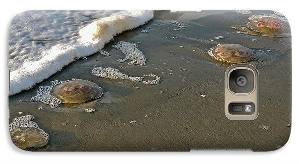 Galaxy Case featuring the photograph Washed Ashore by Eve Spring