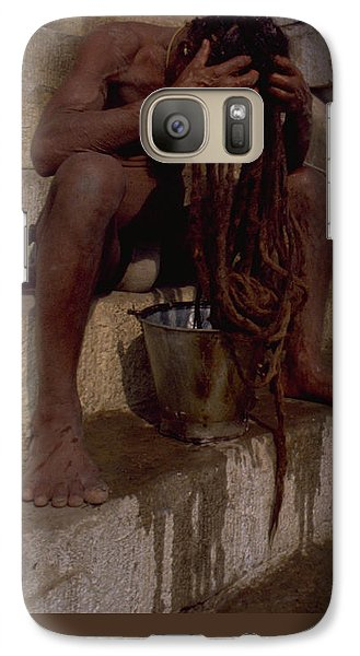 Varanasi Hair Wash Galaxy S7 Case