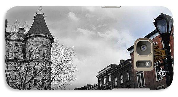 Galaxy Case featuring the photograph Washington And Madison by Toni Martsoukos