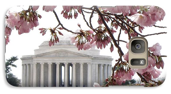 Galaxy Case featuring the photograph Washington Dc In Bloom by Jennifer Wheatley Wolf