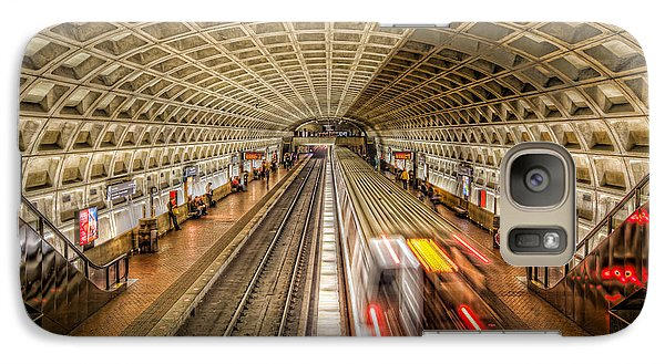 Washington Dc Metro Station Xi Galaxy S7 Case