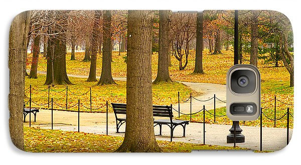 Galaxy Case featuring the photograph Washington Dc's Memorial Parks In The Winter by MaryJane Armstrong