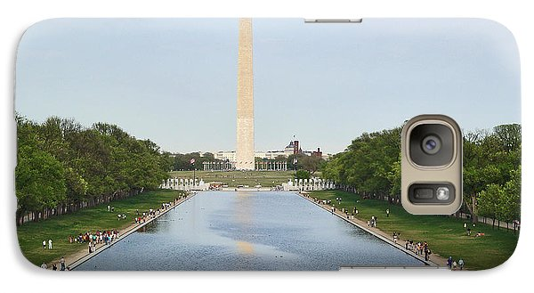 Galaxy Case featuring the photograph Washington Monument 1 by Tom Doud