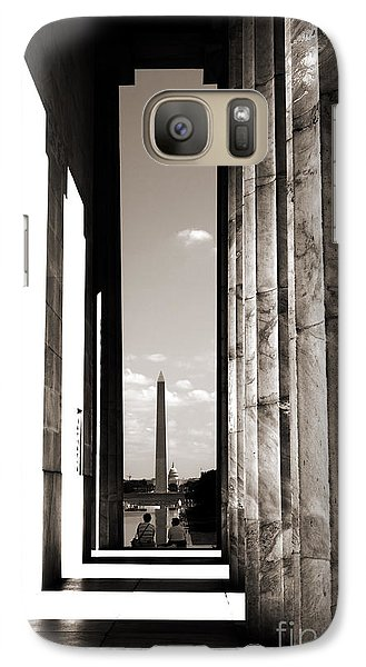 Galaxy Case featuring the photograph Washington Monument by Angela DeFrias