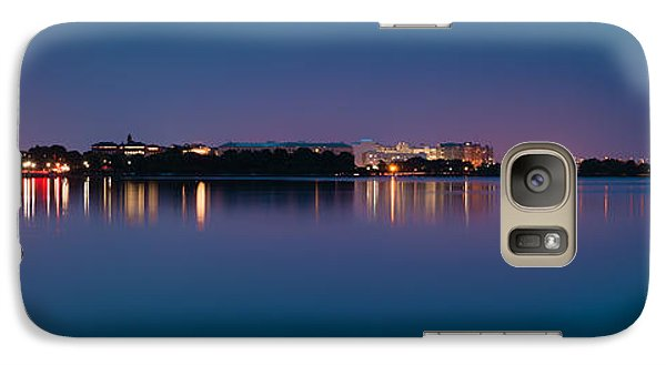 Galaxy Case featuring the photograph Washington Skyline by Sebastian Musial