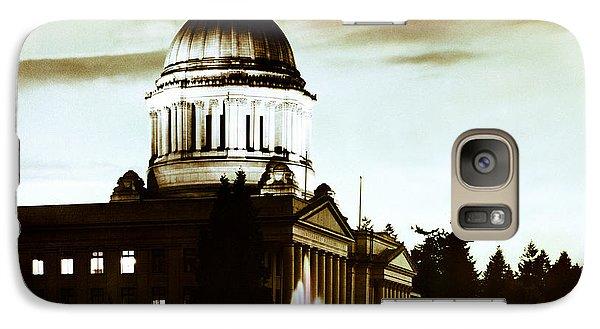 Washington State Capitol Campus And Tivoli Fountain Galaxy S7 Case