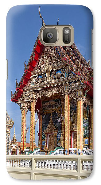 Galaxy Case featuring the photograph Wat Choeng Thalay Ordination Hall Dthp138 by Gerry Gantt