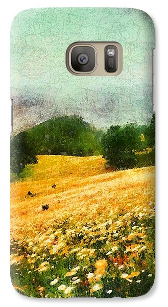 Galaxy Case featuring the painting Watauga County North Carolina by Elizabeth Coats