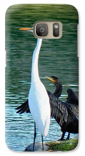 Galaxy Case featuring the photograph Watch This by Deb Halloran