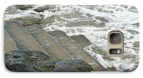 Galaxy Case featuring the photograph Watch Your Step by Brenda Brown