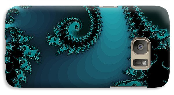 Galaxy Case featuring the digital art Watchers On The Chalcedony Slide by Elizabeth McTaggart