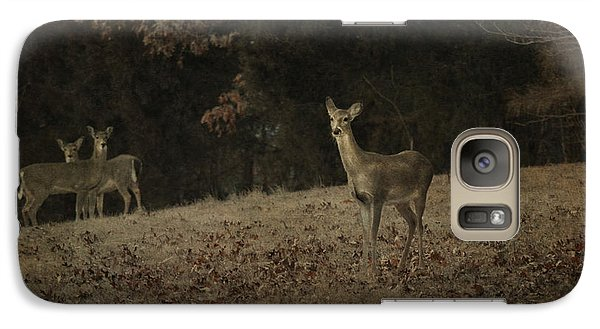 Galaxy Case featuring the photograph Watching From A Distance by Linda Segerson
