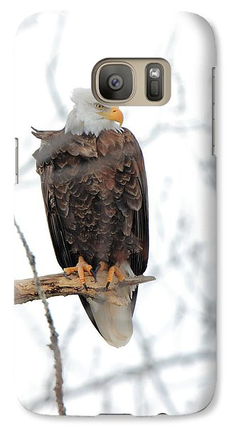Galaxy Case featuring the photograph Watching Out by Coby Cooper