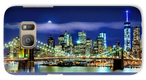 Watching Over New York Galaxy S7 Case by Az Jackson