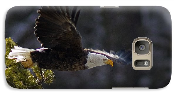 Galaxy Case featuring the photograph Watching The River by J L Woody Wooden