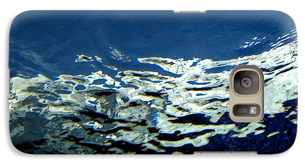 Galaxy Case featuring the photograph Water Abstract 3 by Mary Bedy