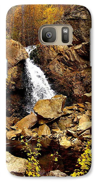 Galaxy Case featuring the photograph Water Always Gets Through by Kathy Bassett