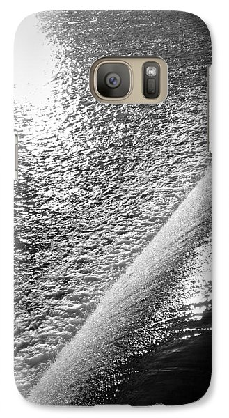 Galaxy Case featuring the photograph Water And Light by Photographic Arts And Design Studio