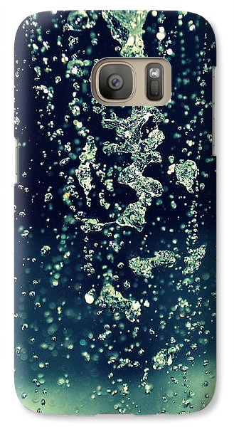 Galaxy Case featuring the photograph Water Blues by Marija Djedovic