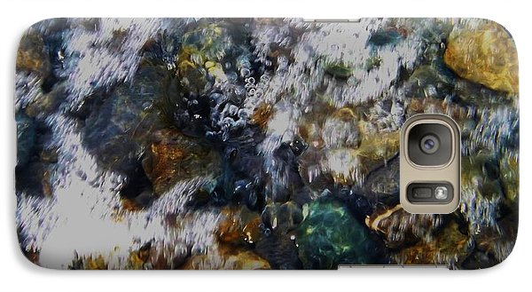 Galaxy Case featuring the photograph Water Bubbles Of Kenai Fjords by Brigitte Emme