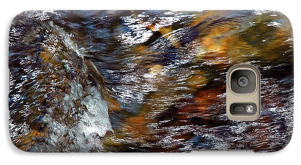 Galaxy Case featuring the photograph Water Color by Allen Carroll