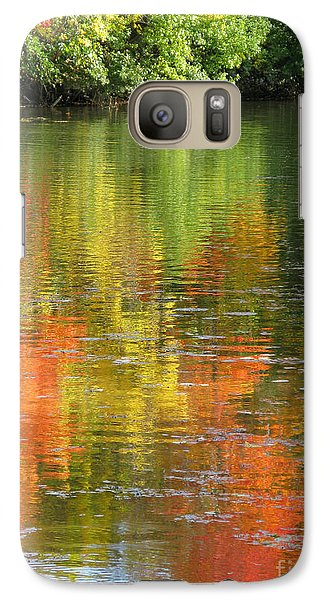 Galaxy Case featuring the photograph Water Colors by Ann Horn