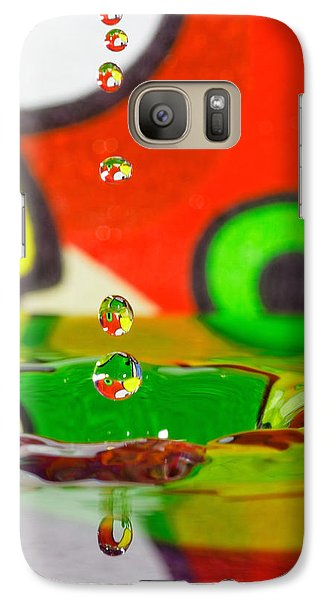Galaxy Case featuring the photograph Water Dew by Peter Lakomy