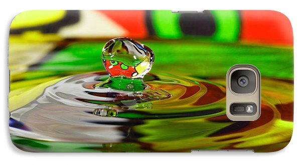 Galaxy Case featuring the photograph Water Drop by Peter Lakomy