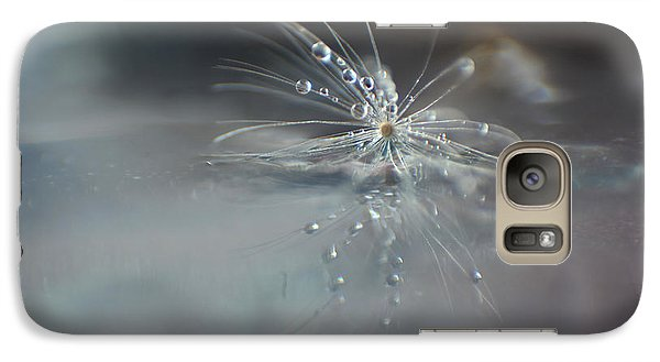Galaxy Case featuring the photograph Water Drops by Eden Baed