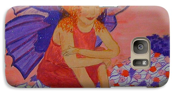Galaxy Case featuring the painting Water Fairy by Judi Goodwin