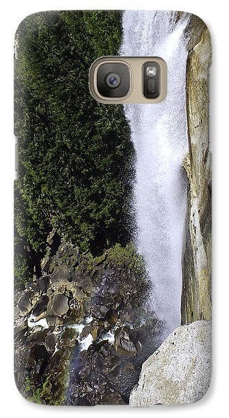 Galaxy Case featuring the photograph Water Fall by Brian Williamson