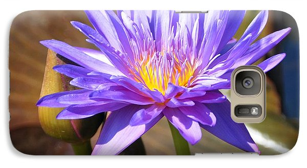 Galaxy Case featuring the photograph Water Flower 1004d by Marty Koch