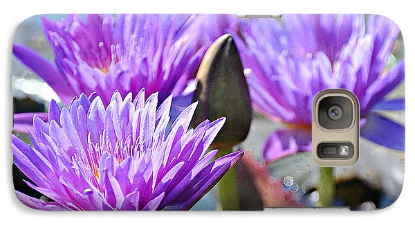 Galaxy Case featuring the photograph Water Flower 1006 by Marty Koch