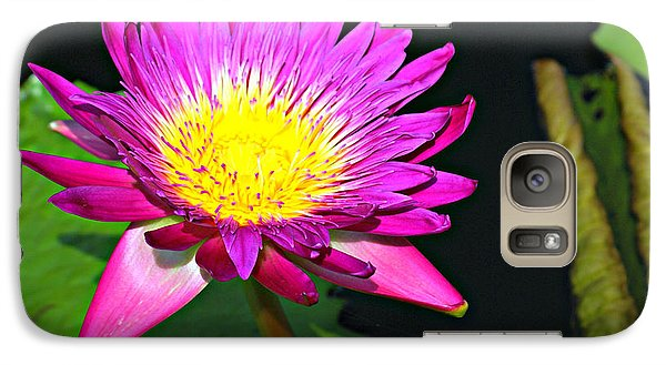 Galaxy Case featuring the photograph Water Flower 10089 by Marty Koch