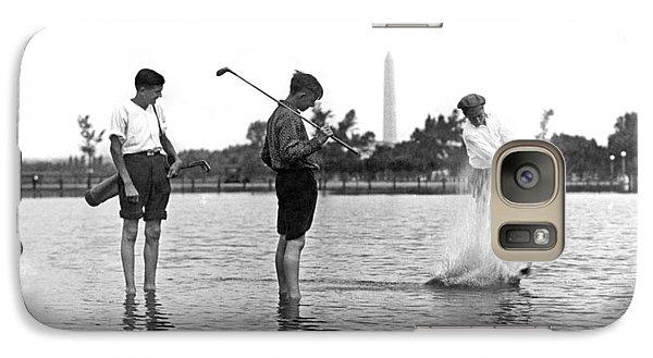 Water Hazard On Golf Course Galaxy S7 Case